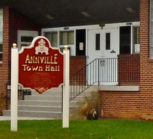 Annville Town Hall, 36 N. Lancaster St., Annville PA